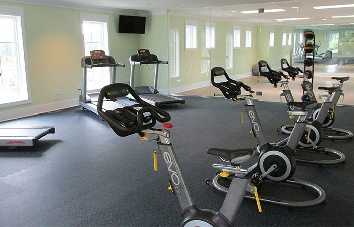 Oyster Point Project Cardio Room low-voltage wiring, security and access control system