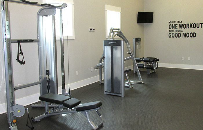 Oyster Point Weight Room Project low-voltage wiring, security and access control system
